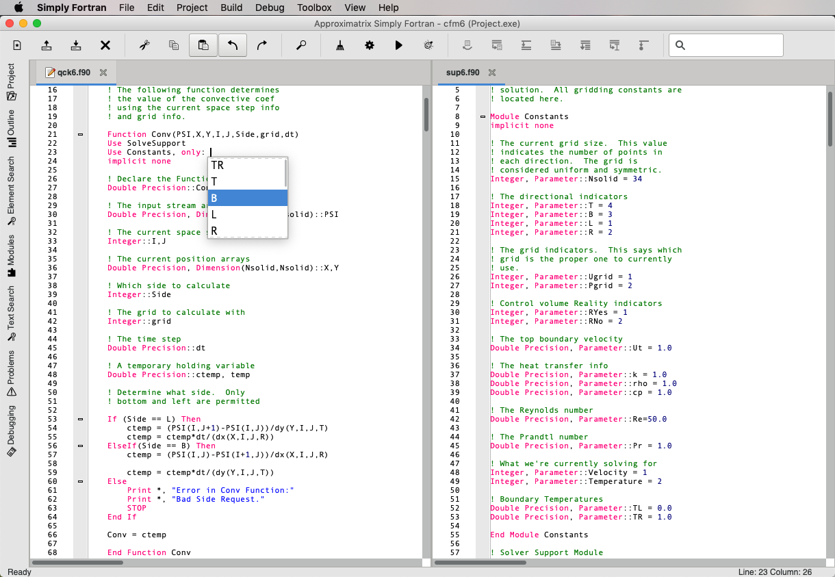 Simply Fortran Screenshot