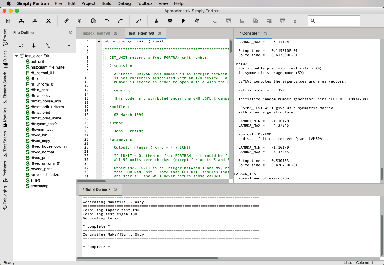 Simply Fortran - Free Trial