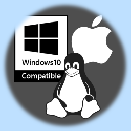 Works on Windows, macOS, and GNU/Linux